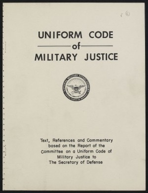 articles associated with your ucmj