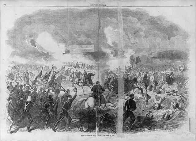 a history of the first battle of manassas Manassas, va - the rich history of manassas toggle  and the south referred to it as the battle of first manassas this bloody battle in july of 1861 ended in a.