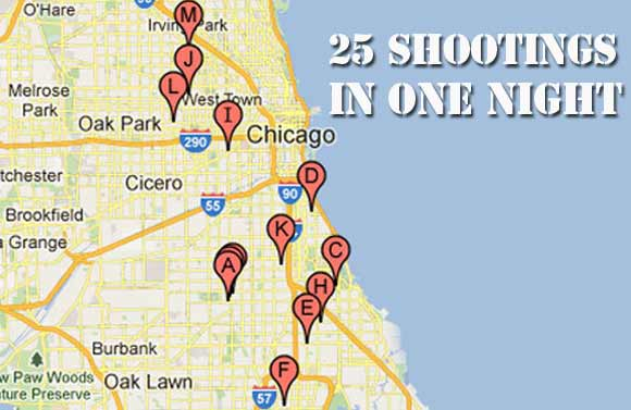 Crime The Common Constitutionalist Let The Truth Be Known - Chicago map crime