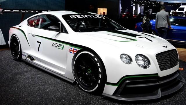 2013 Bentley GT3 race car