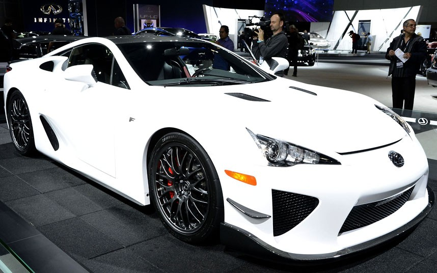 2013 Lexus limited edition Nurburgring Package LFA