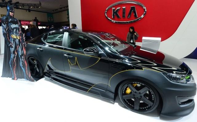 Batman-themed Kia Optima SX