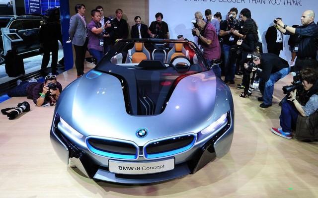 BMW i8 Concept sportscar