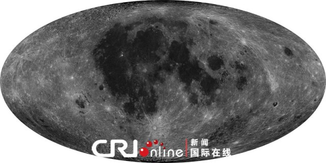 full coverage map of the moon