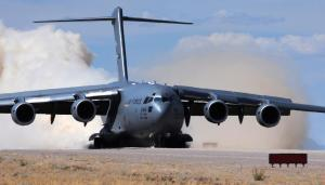 USAF C-17 cargo aircraft