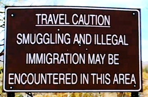 Illegal sign